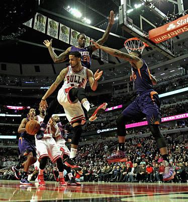 Photograph - Phoenix Suns V Chicago Bulls by Jonathan Daniel