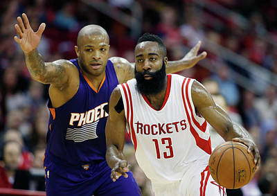 Photograph - Phoenix Suns V Houston Rockets by Scott Halleran