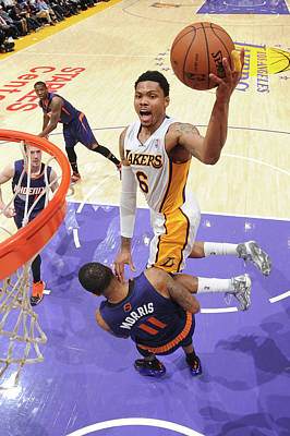 Photograph - Phoenix Suns V Los Angeles Lakers by Andrew D. Bernstein