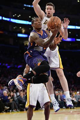 Photograph - Phoenix Suns V Los Angeles Lakers by Noah Graham