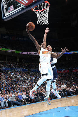 Photograph - Phoenix Suns V Oklahoma City Thunder by Layne Murdoch