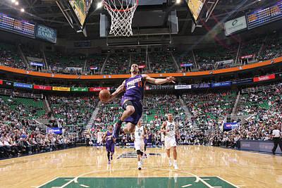 Photograph - Phoenix Suns V Utah Jazz by Melissa Majchrzak