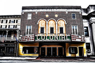 Phoenixville's Colonial Theater Art Print by Bill Cannon