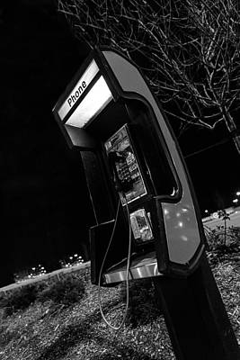 Photograph - Phone Booth by Sennie Pierson