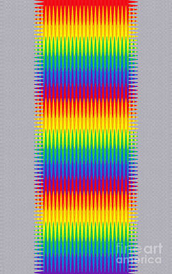 Digital Art - Phone Case Rainbow Abstract 11 by Gabriele Pomykaj