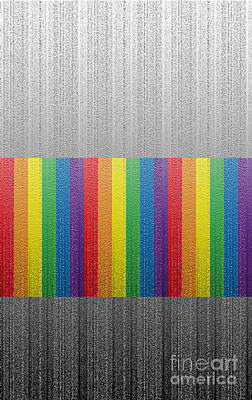 Digital Art - Phone Case Rainbow Abstract 2 by Gabriele Pomykaj