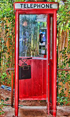 Photograph - Phone Home By Diana Sainz by Diana Raquel Sainz