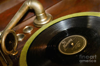 Photograph - Phonograph by Dennis Hedberg