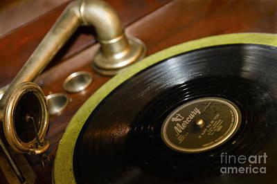 Phonograph Art Print