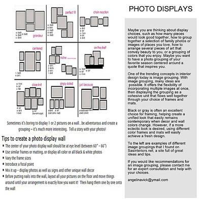 Mixed Media - Photo Displays by Angelina Vick