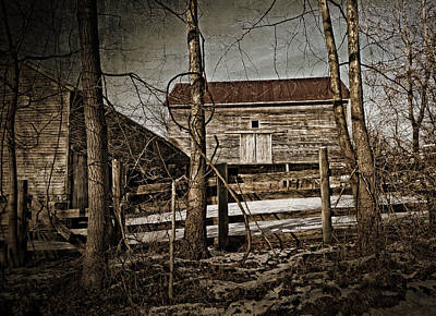 Photograph -  Country Barn Photograph by Femina Photo Art By Maggie