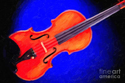 Painting - Photograph Of A Complete Viola Violin Painting 3371.02 by M K  Miller