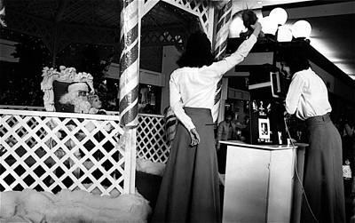 Photographed On Santa's Lap El Con Mall Tucson Arizona 1984   Original by David Lee Guss