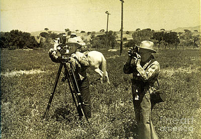 Photograph - Photographers 1935 by Patricia  Tierney