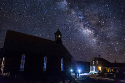 Photograph - Photographers At Bodie by Cat Connor