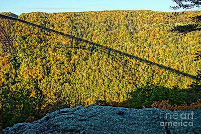 West Virginia Photograph - Photographer's Perch by Timothy Connard