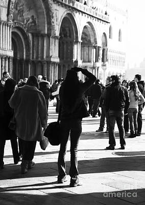 Venice Photograph - Photographing Venice by John Rizzuto