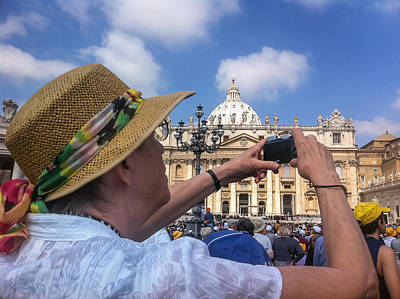 Photograph - Photography In St Peters Square - June 5 by Dwight Theall