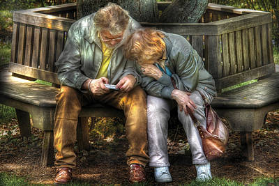 Photography - The Digital Age Art Print by Mike Savad