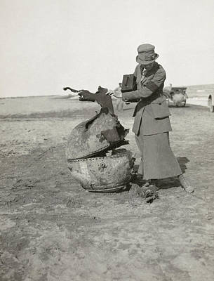 Ypres Photograph - Photojournalist, 1919 by Granger