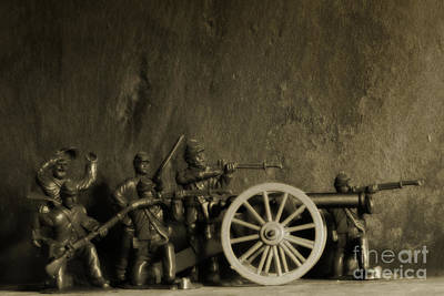 Realistic Miniatures Photograph - Photos From The Front Civil War Three by Randy Steele