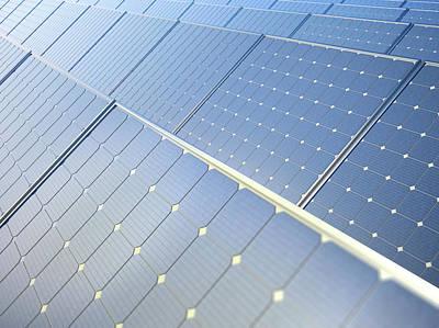 Photovoltaic Panels Art Print