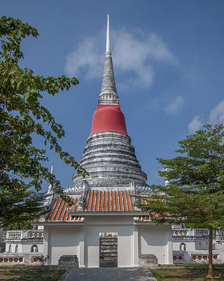 Photograph - Phra Samut Chedi Gate Dthsp0054 by Gerry Gantt
