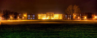 Photograph - Phs At Night by Jonny D