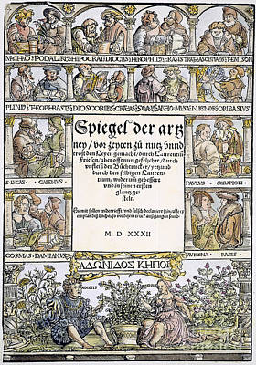 Physicians, 1532 Art Print