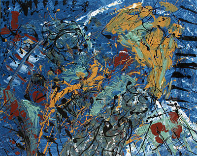 Painting - Pianissimo by Oscar Penalber