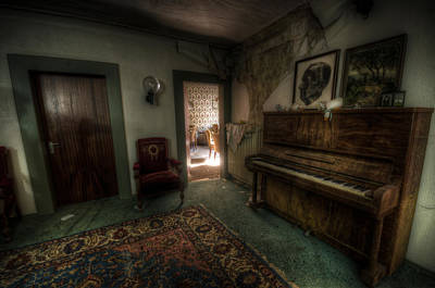 Digital Art - Piano Corner by Nathan Wright