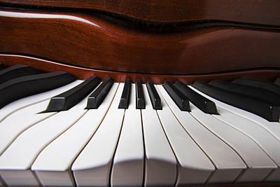 Distort Photograph - Piano Dreams by Garry Gay
