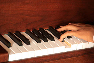 Photograph - Piano by Emanuel Tanjala