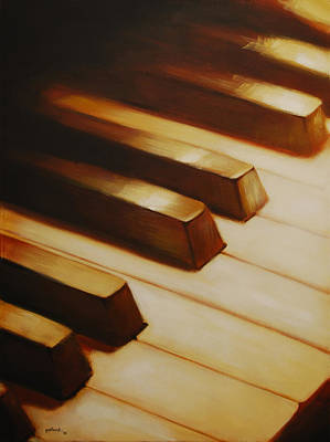 Painting - Piano by Glenn Pollard