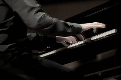 Photograph - Piano Hands by Sheryl Thomas