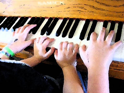 Photograph - Piano Lessons by Michelle Hoffmann