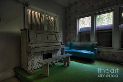 Photograph - Piano Man by Rick Kuperberg Sr