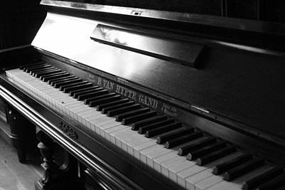Photograph - Piano by Marinus Ortelee
