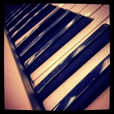 Piano Photograph - Piano (: #piano #band #bandhall #music by Jesus Luna