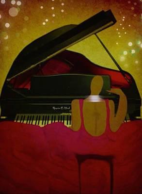 Pianochic Art Print