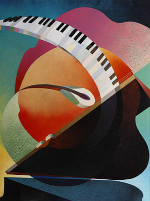 Pianoforte Art Print by Fred Chuang