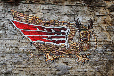 Piasa Bird Art Print