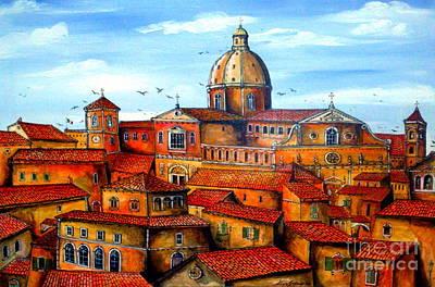 Piazza Armerina Sicily Art Print