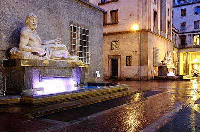 Photograph - Piazza C.l.n. by Fabrizio Troiani