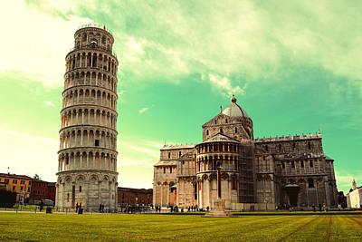 Arte Urbano Photograph - Piazza Dei Miracoli - Pisa - Toscana by Orazio Puccio