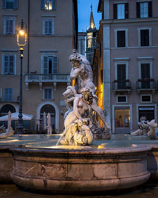 Rome Photograph - Piazza Navona 2 Rome Italy by Bruce Ingwall