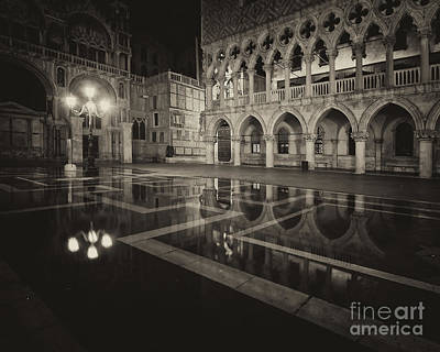 Photograph - Piazza San Marco by Dennis Hedberg