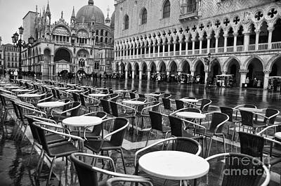 Piazza San Marco Venice Art Print by Design Remix