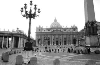Photograph - Piazza San Pietro In Rome by Emanuel Tanjala