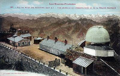 Telescope Dome Photograph - Pic Du Midi Observatory by Detlev Van Ravenswaay